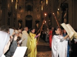 Given the missions context, a special procession for the Word of God
